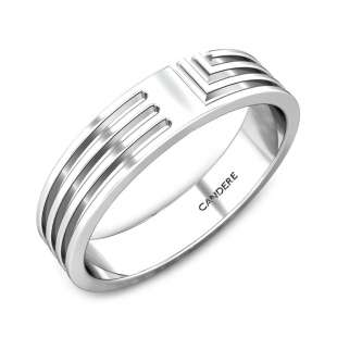 Ariel Platinum Band for Her