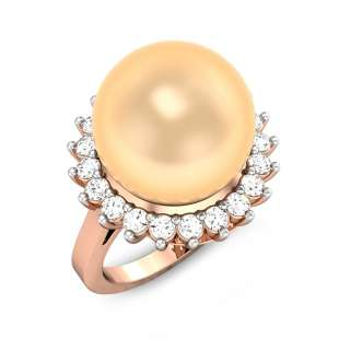 Pearls Of Paradise Peach Ring