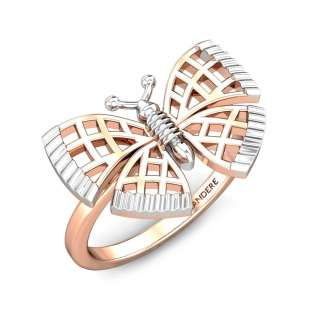 Elyse Butterfly Gold Ring