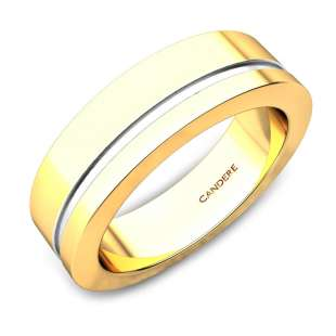 Ken Gold Wedding Ring For Him