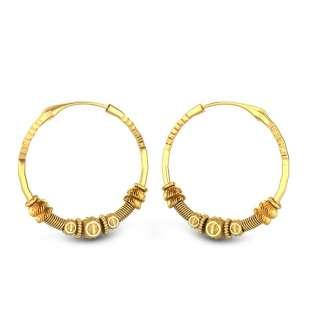 Salome Gold Earring